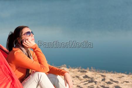kvinde ferie sommer sommerlig vandreture lette