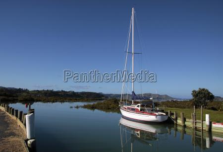 havn new zealand porte yacht sommerdag