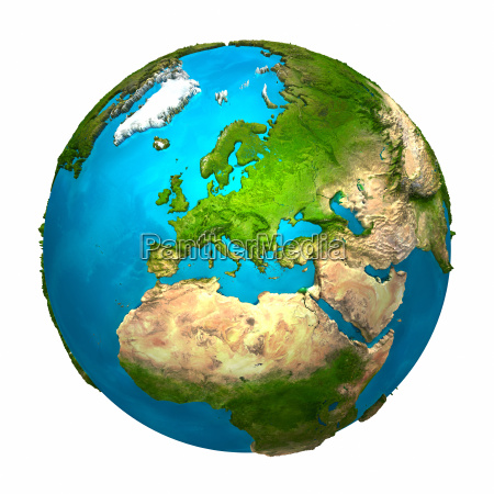 planet earth europe