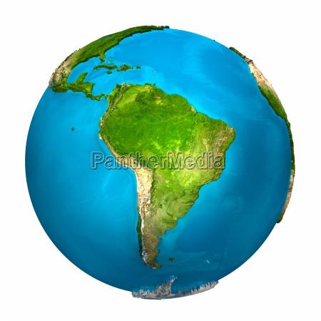 planet earth sydamerika