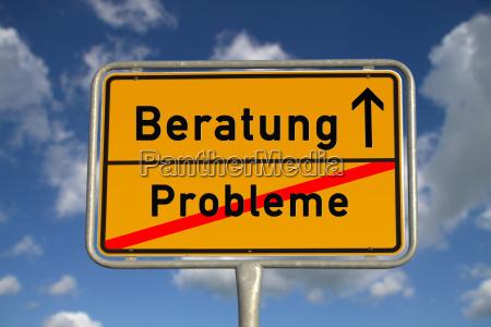 tyske ortsschild problemer radgivning