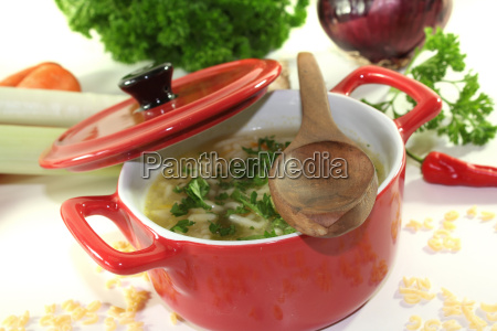 noodle suppe