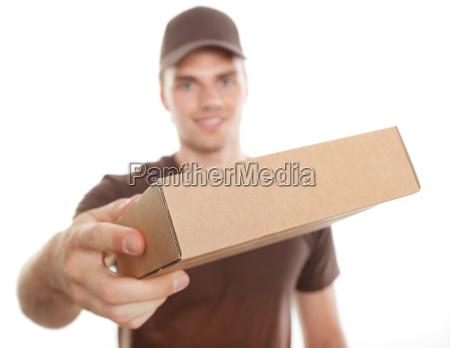 afsendelse mail parcel service levering indlaeg