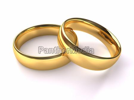 bryllup guld ringe