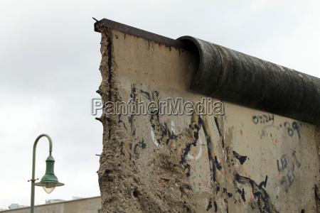 mur berlin graensen gennembrud fordeling graenseomrade