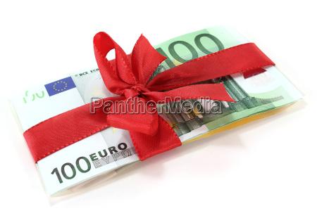 eurobanknotes med lokke