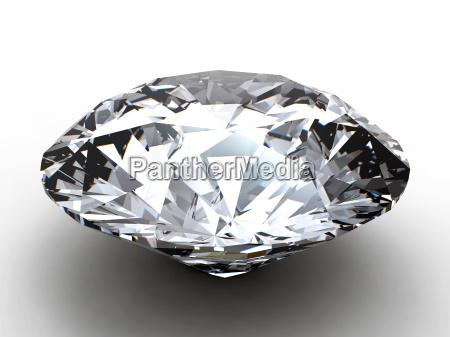 diamant med refleksion
