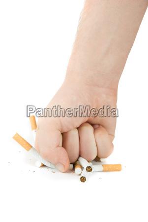 cigaret gestus handbevaegelse fare finger sundhed