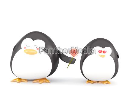 penguin i kaerlighed
