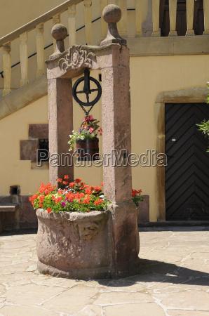 fontana a turckheim alsazia