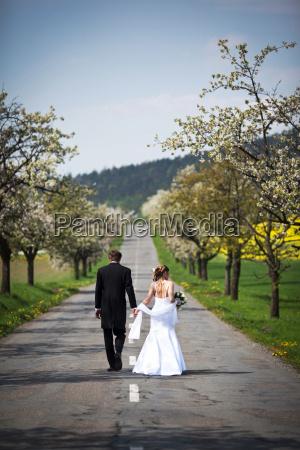 portraet bryllup vielse indgaelse af aegteskab