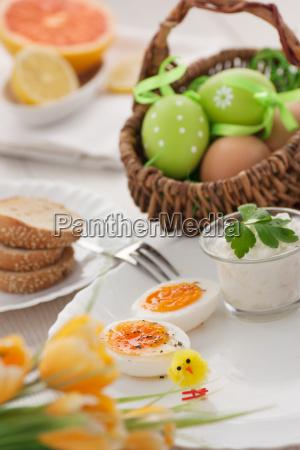 traditionel paske morgenmad