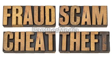 bedrageri svindel bedrager og tyveri