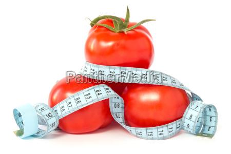 tomater indpakket med maleband