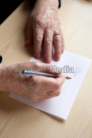 skrive et brev