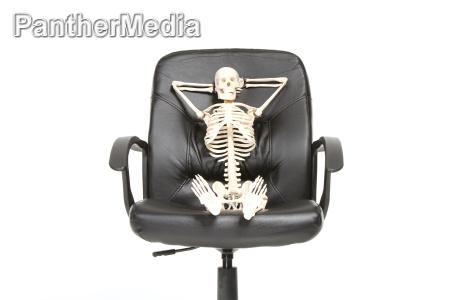 skelet afslappet