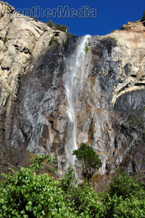 bridalveil fall at yosemite national park