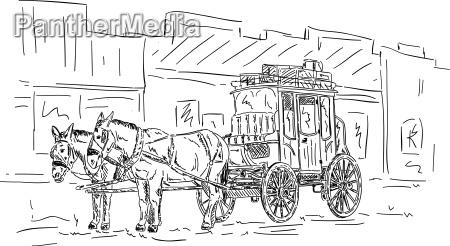heste vestlig transport