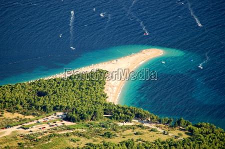 golden cape pa brac island kroatien