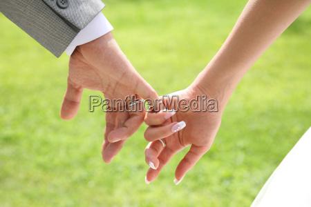 hand ring finger makrooptagelse close up