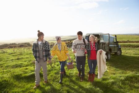 unge par gar for picnic