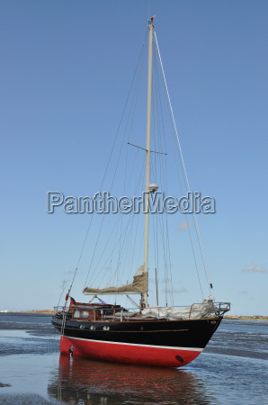 nationalpark yacht sejlbad watt mudderbanke