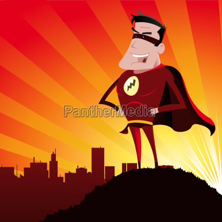 super hero mand