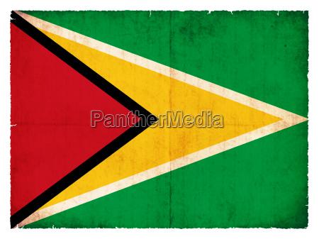 fane flag style guyana gammel