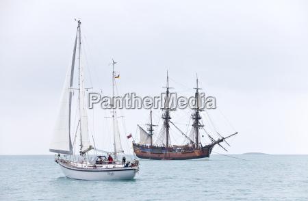 ferie sejle sejlskib sejlbad robad bad