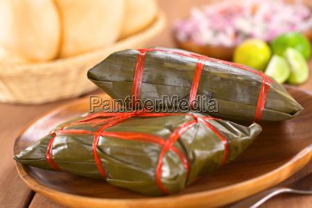 peruvianske tamales