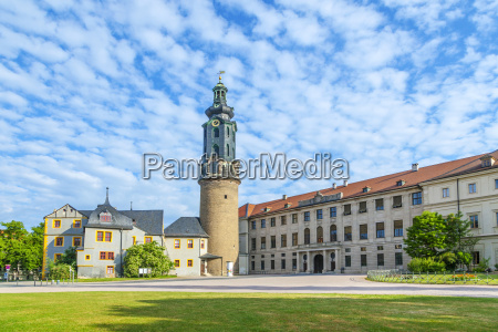 city castle i weimar i tyskland
