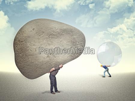 sten let underlig sjov komisk lystig
