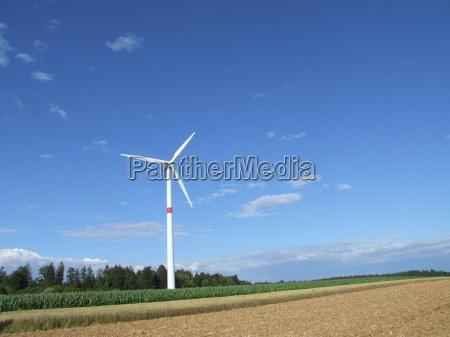 mark kraft energi elektricitet strom vindenergi