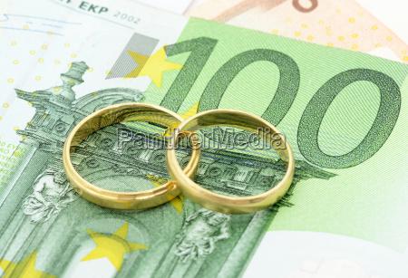 euro bill ringe vielsesringe penge