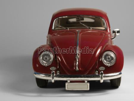 vw beetle model bil foran i