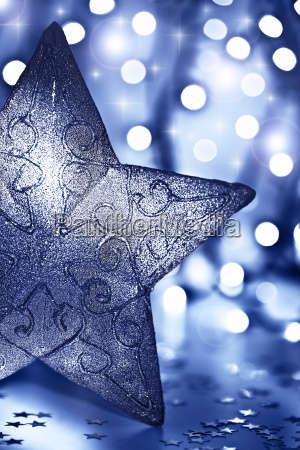 stjerne dekoration juletraespynt