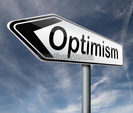 optimisme og positiv taenkning