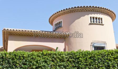 hus bygning mallorca spanien stil af