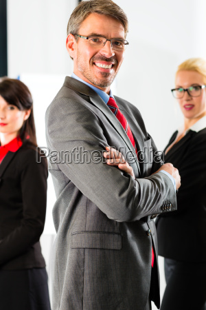 business en gruppe af erhvervsfolk