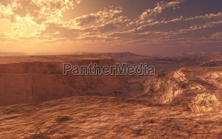 kunst sten solnedgang linjer fantasi stenmasse