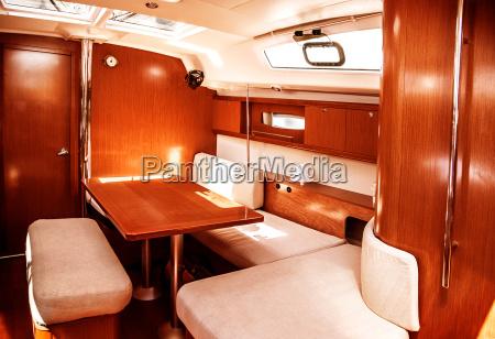 luksus skib interior