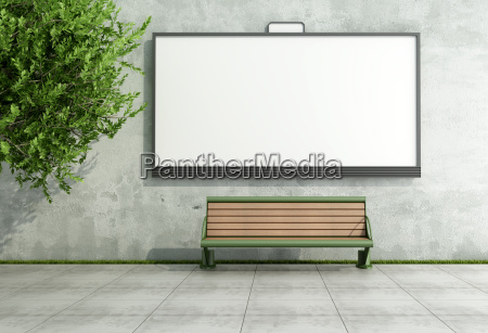 reklame street billboard pa grunge vaeg