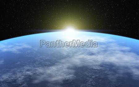 bla univers solstraler atmosfaere kloden jorden