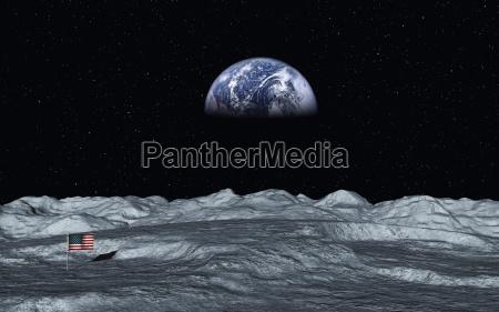 udsigt over jorden