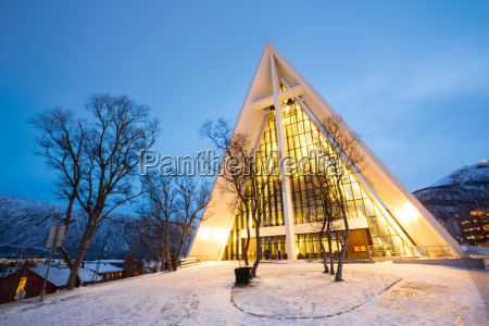 tromso arctic cathedral norway
