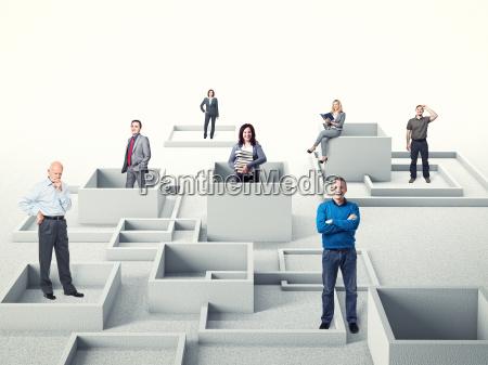 forretningsfolk