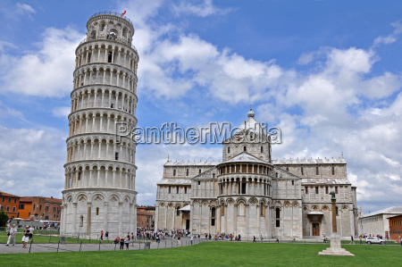 the tower of pisa og cathedral
