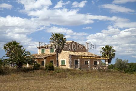 hus bygning mallorca spanien palmer villa