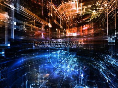 skilt signal by horisont rummet industriel