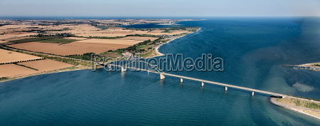 fehmarnsundbrücke, fra, luften - 9721770